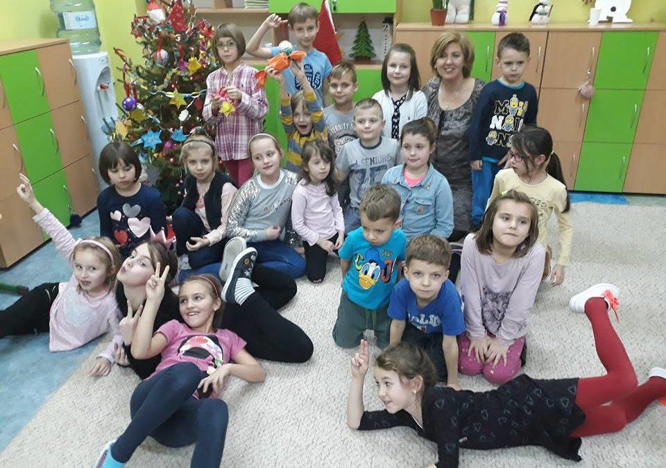 Warsztaty świąteczne klasy 2A