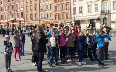 Wycieczka do Warszawy klas 3a i 3b – 12 kwietnia 2018r.