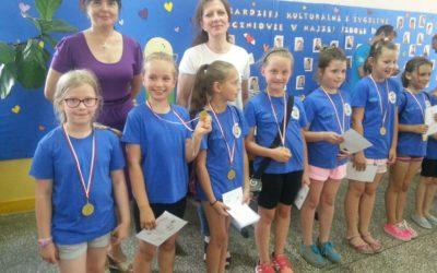 Szkolne Igrzyska Sportowe z okazji Dnia Dziecka