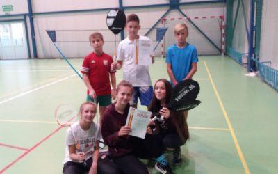 Powiatowy Turniej Badmintona