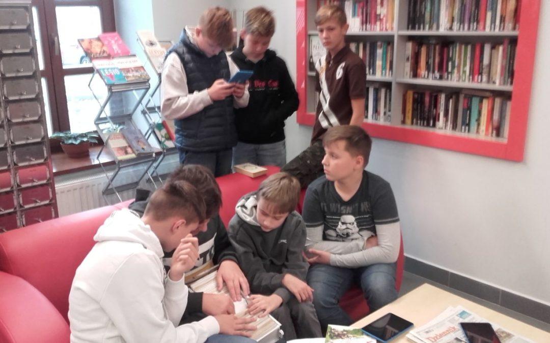 Zajęcia w Bibliotece Pedagogicznej