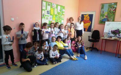 Spotkanie biblioteczne klasy 1a w ramach Dni Otwartych Bibliotek Miejskich