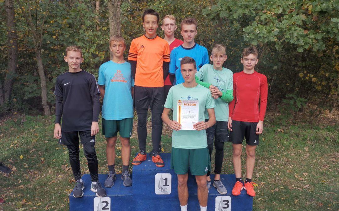 Sztafeta biegaczy awansowała do finału wojewódzkiego