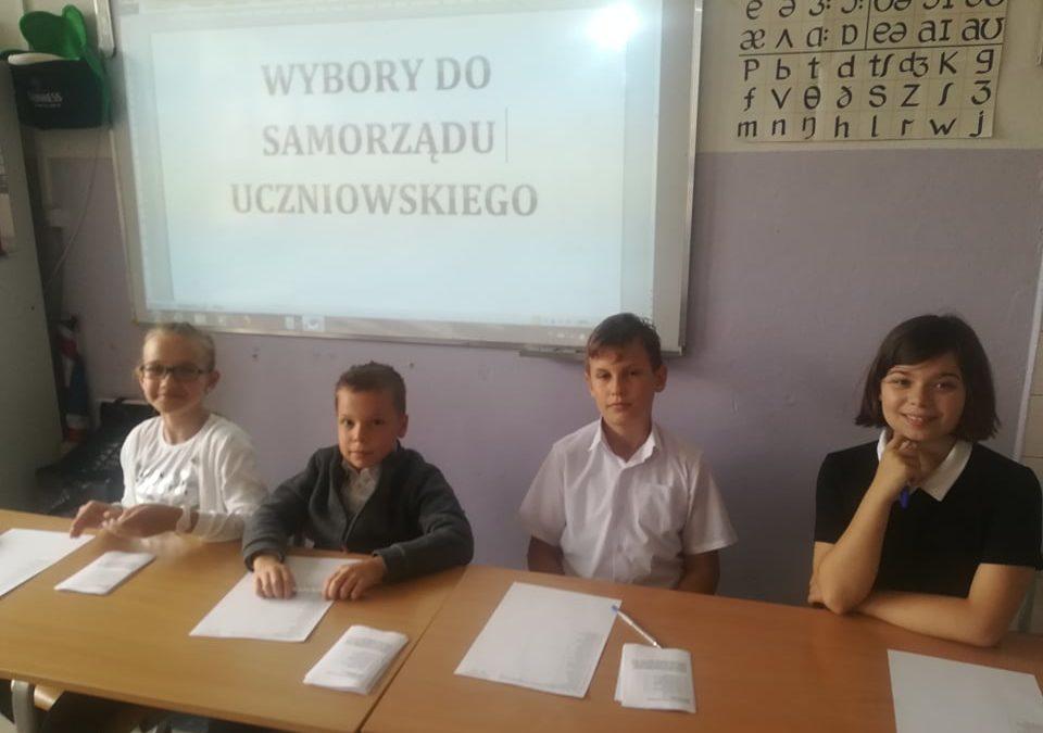 Wyniki wyborów do Samorządu Uczniowskiego