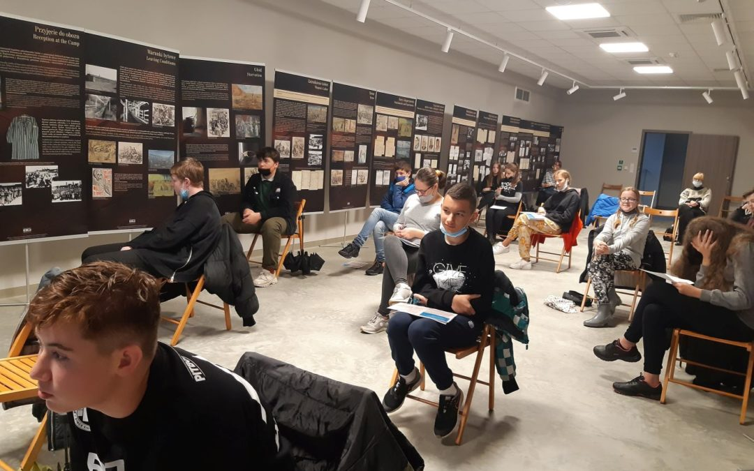 Wycieczka klasy 8 E do Auschwitz – Birkenau