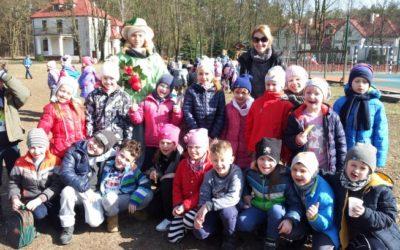Piknik wiosenny klas 1a, 1b, 2a, 2b- 16 marca 2017 r. Grabskie Sioło