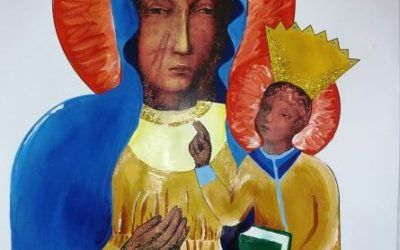 Zaprojektuj szatę dla Matki Boskiej Częstochowskiej