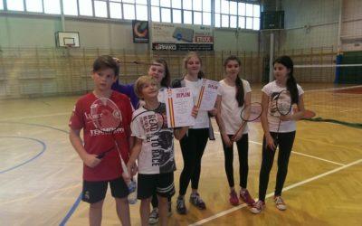 Turniej drużynowy w badmintonia