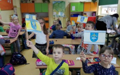 """""""Moje miasto Skierniewice"""" – lekcja biblioteczna dla uczniów klasy III c i III e"""