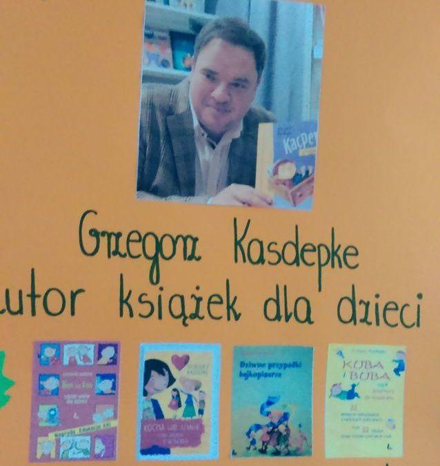 Spotkanie z bajkopisarzem Grzegorzem Kasdepke
