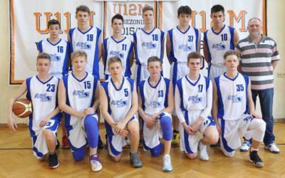 Reprezentacja koszykarzy  mistrzem województwa łódzkiego