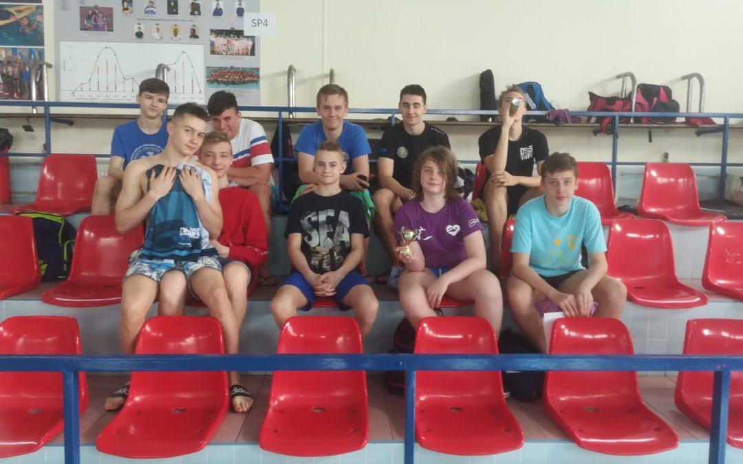 III miejsce w szkolnej lidze pływackiej