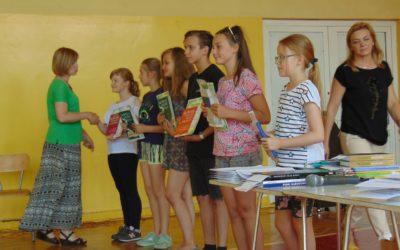 Apel podsumowujący pracę uczniów klas IV-VI w drugim semestrze.