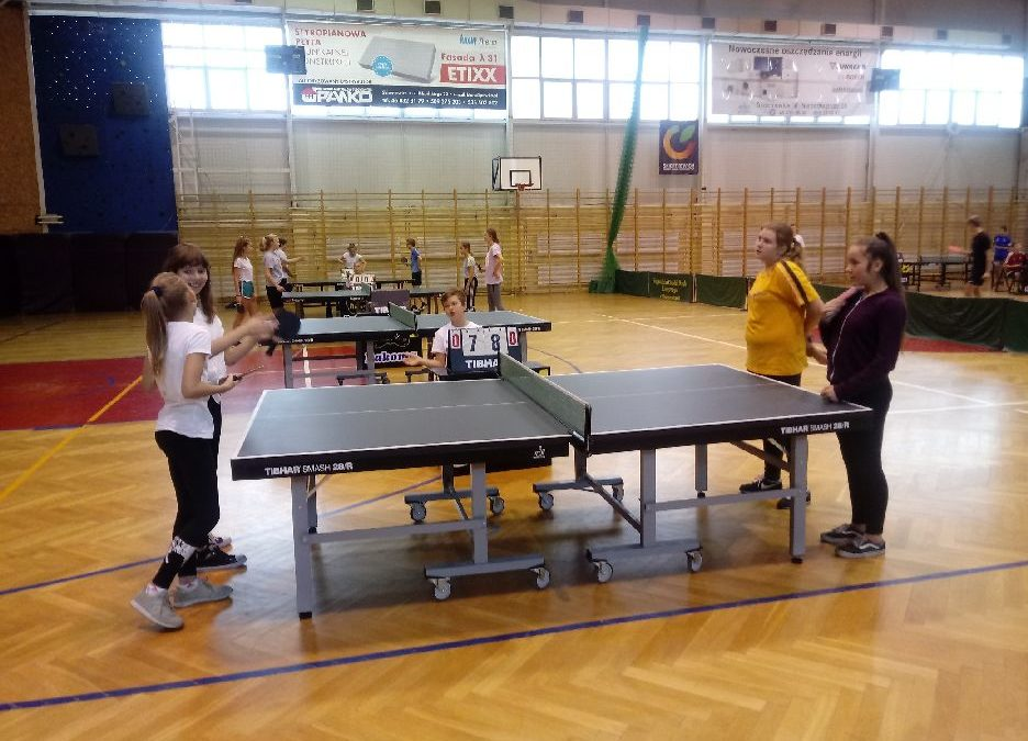 Igrzyska Dzieci szkół podstawowych w tenisie stołowym