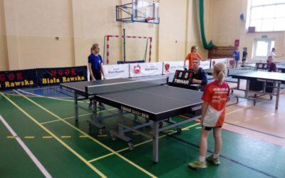 Półfinał wojewódzki w tenisie stołowym chłopców i dziewcząt –Igrzyska Dzieci