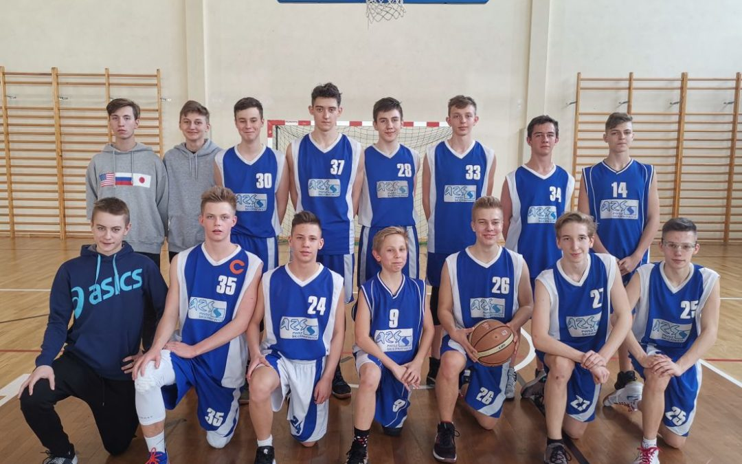 Mistrzowie Powiatu- Koszykarze z SP4
