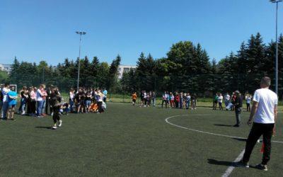 Szkolny dzień sportu klas 8 oraz 3 gimnazjum