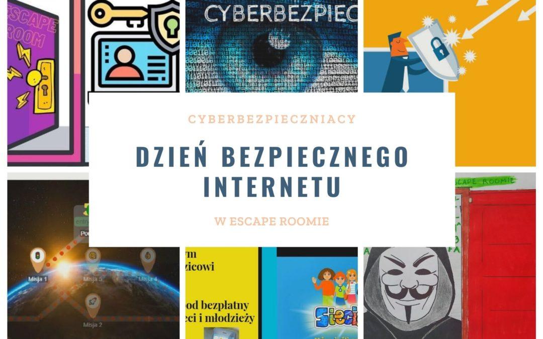 Dzień Bezpiecznego Internetu – przygoda w ESCAPE ROOMIE