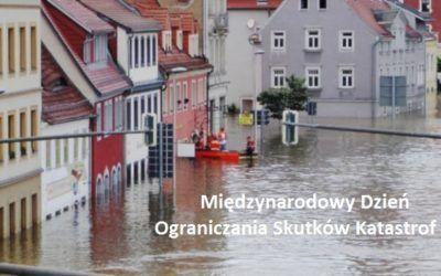 List z okazji Międzynarodowego Dnia Ograniczania Skutków Katastrof